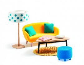 Djeco - A sárga nappali - The orange living room