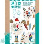 Djeco Animal balloons - Állati lufik - Kreatív készlet