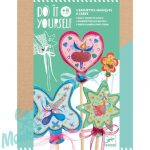Djeco Little fairies - Tündér varázspálca - Kreatív készlet