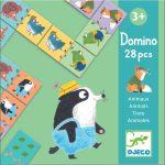 Djeco Dominó játék - Állatok - Animals