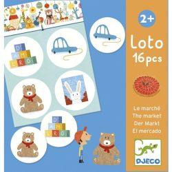 Djeco Képeslottó - A bolt, lottójáték - The market
