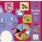Djeco Társasjáték - Tapintgató - Tactilo lotto, animals