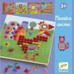 Djeco Pötyi mozaik - Állatok - Mosaico Animo