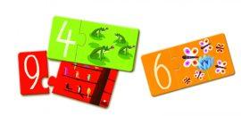 Djeco - Párosító puzzle - Számok - Numbers