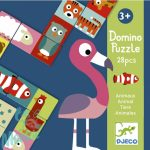 Djeco Kétfeles Domino - Animo-puzzle