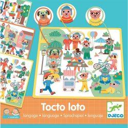 Djeco Fejlesztő játék - Pontosan az! - Eduludo Tocto loto