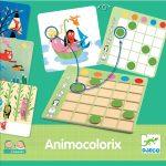 Djeco Fejlesztő játék - Színtaláló - Animo Colorix