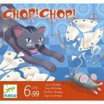 Djeco Társasjáték - Macska-egér játék - Chop Chop - Taktikai társasjáték