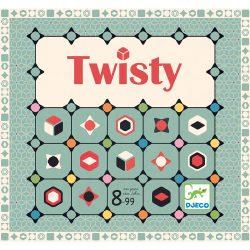 Djeco Társasjáték - Színkígyózó - Twisty