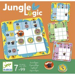 Djeco Logikai játék - Jaguár logika - Jungle Logic