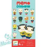 Djeco Memo Diabolo - Cicás memóriajáték- Társasjáték 4 éves kortól