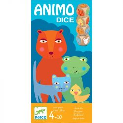 Djeco Társasjáték - Állati kockáztató - Animo Dices