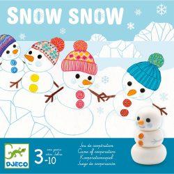 Djeco Társasjáték - Hohó - Snow Snow