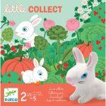 Djeco Társasjáték - Nyuszi ül a fűben - Little collect