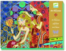 Djeco Művészeti műhely - Art nouveau - Art nouveau workshop