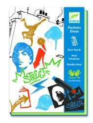 Djeco Művészeti műhely - Grafitti sokszorosító - Street stencil
