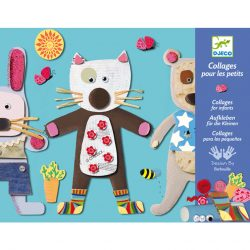 Djeco Kollázs műhely - Kicsiknek - Collages for little ones