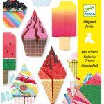 Djeco Origami Sweet Treats - Origami- Édes nyalánkságok