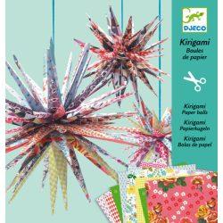 Djeco Kirigami - Papírgömbök -Kirigami paper balls