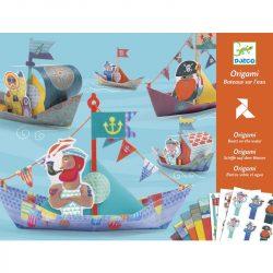 Djeco Origami - Papírcsónak - Floating boats