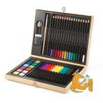 Djeco Kreatív készlet - Festő és rajz készlet - Color box