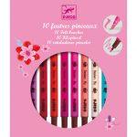 Djeco Ecsetfilc készlet - 10 édes szín - Sweet colors