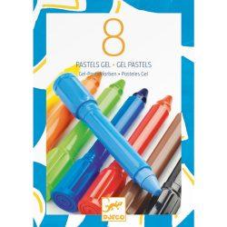 Djeco Géllpasztell - 8 klasszikus színben - classic colours