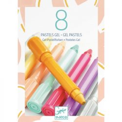 Djeco 8 gel pastels - sweet colours