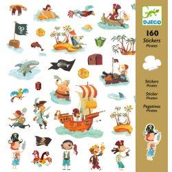Djeco Matricák - Kalózok - Pirates