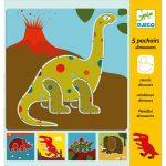 Djeco Rajzsablonok - Dínók - Dinosaurs