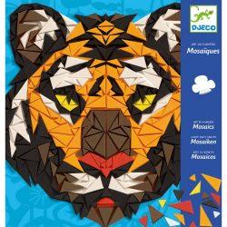 Djeco Mozaikkép készítés - Vadállatok - Khan