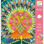 Djeco Mozaikkép készítés - Csodás madarak - Coco