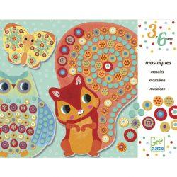 Djeco Mozaikkép készítés - Ezer virág - Millefiori