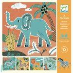 Rjzsablonok Vadállatok - Wild animals