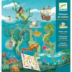 Djeco Adventures at sea - Matricás meseszövés - Kreatív játék