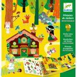 Djeco The magical forest - Matricás meseszövés - VArázslatos erdő- Kreatív játék
