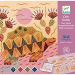 Kreatív nyomdakészlet Minták és állatok - Patterns and animals