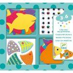 Djeco Matricázó képkészítő - Szeretem a halakat - I love fishes