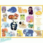 Coloured stickers mums and babies
