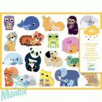 Matricák Összetartozás - Coloured stickers mums and babies