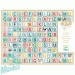 Matricák Betűk - Alphabet stickers