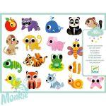 Djeco Baby animals - Matricakészlet állatkölykök figurákkal