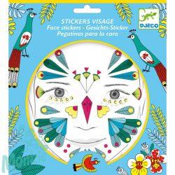 Djeco Arc dekoráló matrica - Madár - Bird