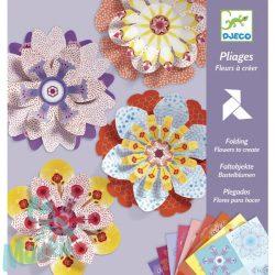 Djeco Hajtogató - Papírvirág készítés - Flowers to create
