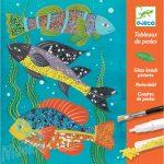 Djeco Zoology - Gyöngyfestmény készítés - Kreatív készlet