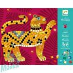 Djeco Mosaic kits - Deep in the jungle -  dzsungel mélyén - Mozaik készítő - Kreativ készlet