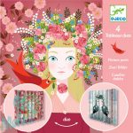 Djeco Lovely queens - Csodálatos királynők - Harmónikakép készítés - Kreatív készlet