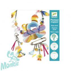 Djeco Magic plastic figura készítés - Szivárványos lovacska - Rainbow horse