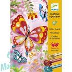 Djeco Csillámkép készítő - Pillangók - Butterflies