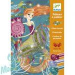Djeco Csillámkép készítő - Sellők - Mermaids
